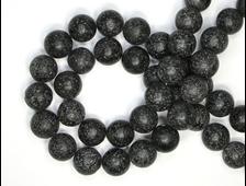 Бусины Лава, шар 12 мм