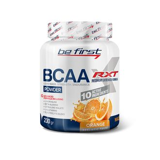 (Be First) BCAA RXT Powder - (230 гр) - (малина)