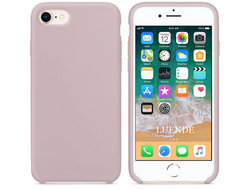 iPhone 7 Silicone Case розовый