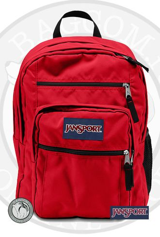 Jansport Big Student High Risk Red