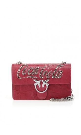 Coca-cola by Pinko Shoulder Bag Red