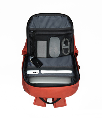 Рюкзак Xiaomi Multifunctional city backpack 90 points all weather непромокаемый  красный