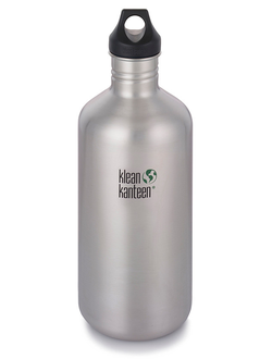 Бутылка Klean Kanteen CLASSIC LOOP 1900 мл (64oz) Brushed Stainless