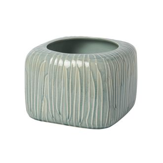 Цветочное кашпо SIA REED FLOWER POT MEDIUM , 280189 , H16/W23/L23