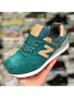 NEW BALANCE 574 GREEN GOLD ЖЕНСКИЕ