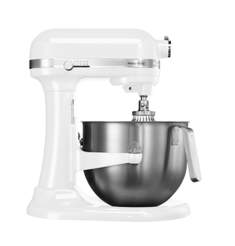 Миксер профессиональный KitchenAid Heavy Duty, чаша 6,9 л., белый, 5KSM7591XEWH