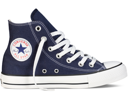 converse chuck taylor all star hi navy 01