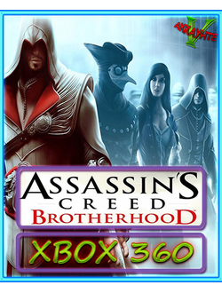 ASSASSIN'S CREED BROTHERHOOD+BONUS ИГРЫ(XBOX 360)