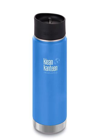 Термобутылка Klean Kanteen Insulated Wide Cafe Cap 20oz (592 мл) Pacific Sky