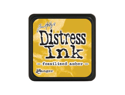 Tim Holtz Mini Distress® Ink Pad Fossilized Amber