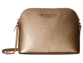 Сумка Michael Kors Cindy Large Dome Crossbody (Золотая)