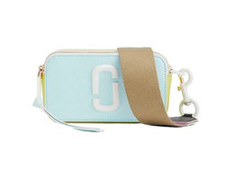 Marc Jacobs Ceramic Snapshot Small Camera Bag LIGHT BLUE MULTI
