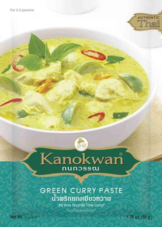 Green Curry Paste (Kanokwan) 50 g