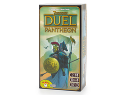 7 чудес: Дуэль - Пантеон (Wonder Duel expansion)
