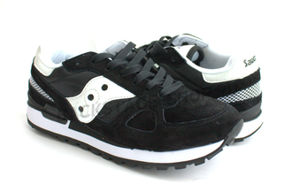 Кроссовки Saucony Shadow Black замша