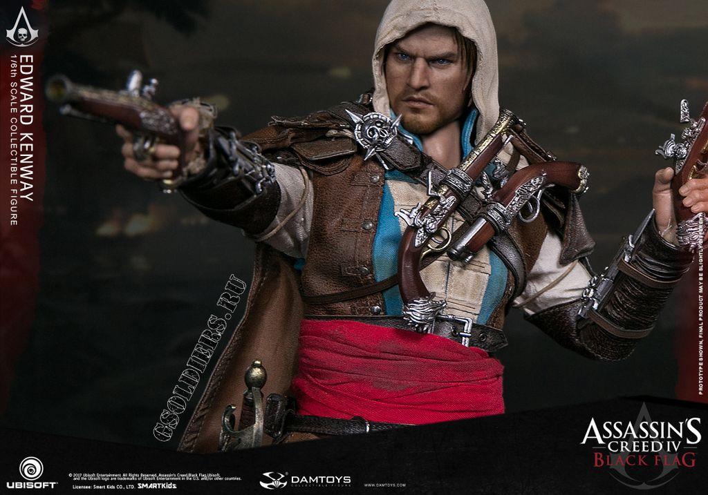 Обои Пират, Ubisoft, Ассасин, Эдвард Кенуэй, Assassin's Creed IV ... | 717x1024