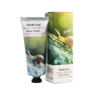 Крем для рук с оливкой FarmStay Visible Difference Hand Cream Olive