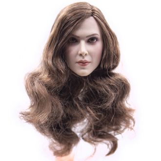 Женская голова (скульпт)  1/6 female head sculpture in Europe and America (A) - GACTOYS