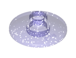 Dish 2 x 2 Inverted (Radar), Glitter Trans-Purple (4740 / 6093752 / 6245345)