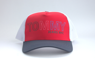 Бейсболка Tommy Hilfiger Red/Blue Сетка