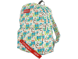 Рюкзак школьный Optimum School Print RL, совы