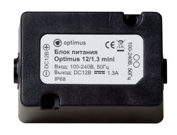 Блок питания Optimus 12/1.3 mini