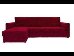 Чехлы Модерн на угловые диваны с выступом слева турецкого производства