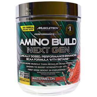 (MuscleTech) Amino Build Next Gen Energized - (281 гр) - (арбуз)