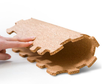 Пробковый коврик Xiaomi  bendable natural cork mat 3600mm*3600mm*6.8mm