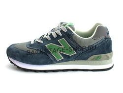 Кроссовки New Balance 574 Blue/Green