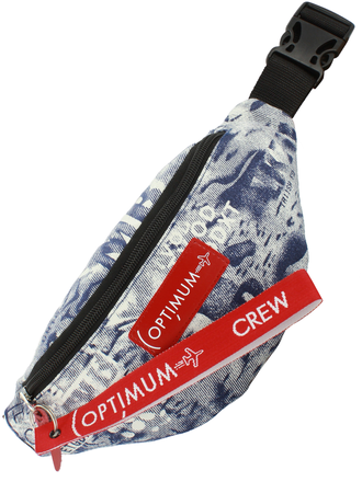 Сумка на пояс Optimum Mini Print RL, буквы