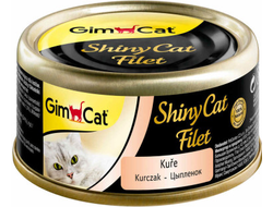 Консервы для кошек Gimcat ShinyCat Filet из цыпленка 70 г