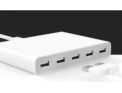Зарядное устройство Xiaomi USB концентратор Power Adapter 5 USB charger Quick Charge QC 2.0