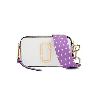 Marc Jacobs Snapshot Small Camera Bag MOON WHITE MULTI