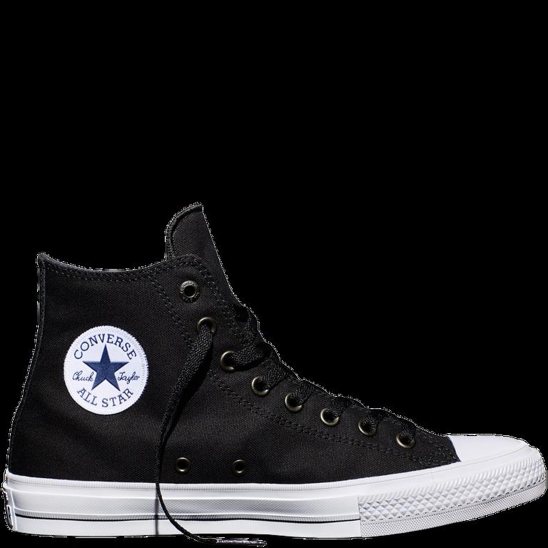 Конверс 2 черно-белые высокие со стелькой Nike Lunarlon модель 150143C 23e10ad374c09