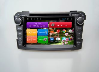 Автомагнитола MegaZvuk T8-7069 Hyundai I40 (2011+) на Android 8.1 Octa-Core (8 ядeр) 7""