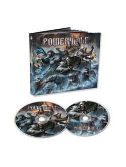 POWERWOLF - Best of the blessed 2-CD MEDIABOOK