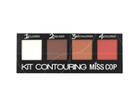 Палетка для контуринга MISS COP  KIT CONTOURING  4 COULEURS