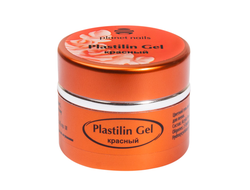Гель-пластилин Planet Nails - Plastilin Gel красный 5г