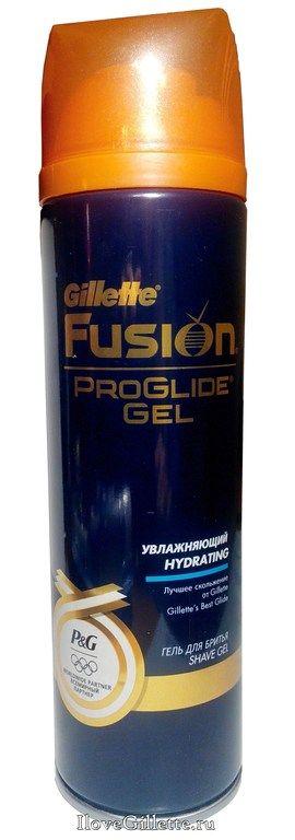 Гель для бритья Gillette Fusion ProGlide Hydrating Gold Увлажняющий 200 мл