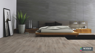 Биополы Wineo PURLINE 1000 wood Island Oak Moon PL045R