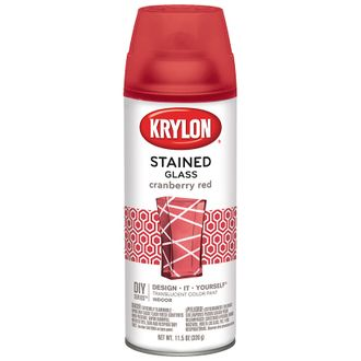 Krylon Stained Glass Cranberry Red 9026