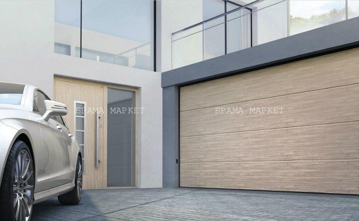 теплые гаражные ворота - недорого ворота на гараж