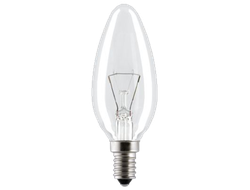 Лампа накаливания General Electric 60C1/CL/E14 Clear 230v