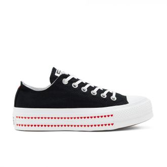 Кеды Converse All Star Love Fearlessly Platform Черные