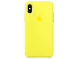 Чехол-накладка Apple Silicone Case iPhone Yellow