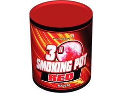 Цветной дым Smoking pot red MA0510/R