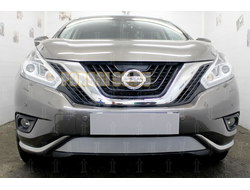 Защита радиатора Nissan Murano Z52 2014- chrome