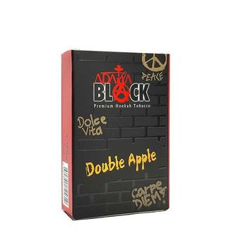 Табак Adalya BLACK Double Apple (Два Яблоко) 50 g.