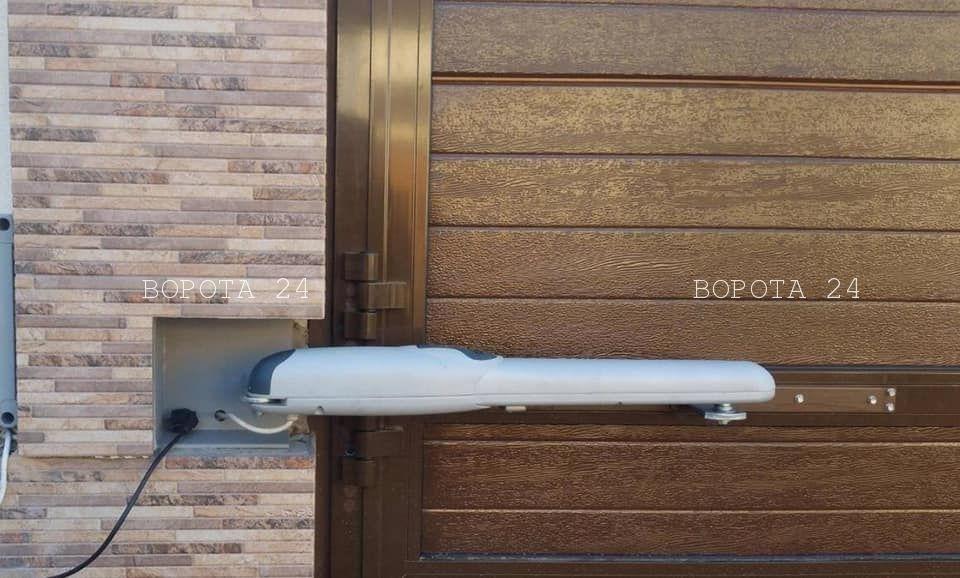 автоматика для уличных ворот - распашной привод на ворота